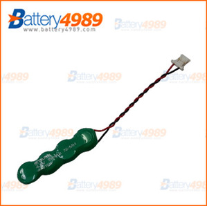 [빽업전지]4.8V RBC Nickel Metal Hydride - NiMH Button / 4.8V15mAh/4.8V 15mAh/ Varta/ 4/V15H
