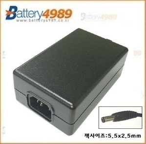 I.T.E. POWER SUPPLY 24V 2.7A /24V2.7A/24V2.5A/24V 2.5A/5.5x2.5mm/ 아답타 / 어뎁터